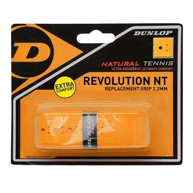 Dunlop grip racket revolution NT oranje