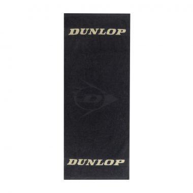 Dunlop handdoek zwart