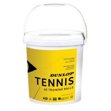 Dunlop training tennisballen 60 stuks