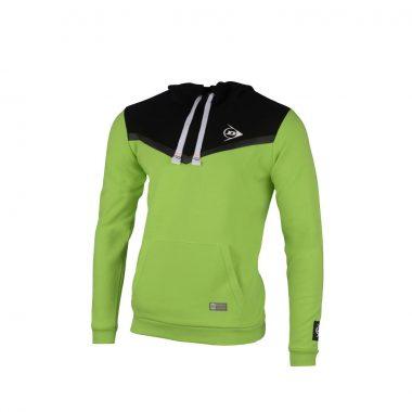 Dunlop Hoodie groen antraciet