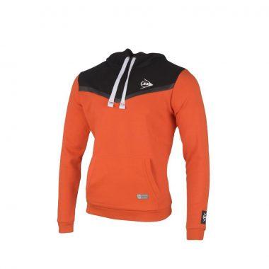 Dunlop Hoodie Oranje Antraciet