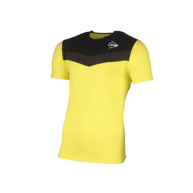Dunlop tshirt geel antraciet