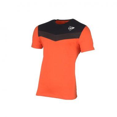 Dunlop tshirt oranje antraciet